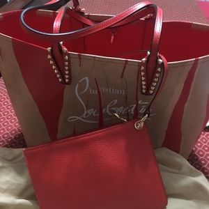 Christian Louboutin purse and wallet